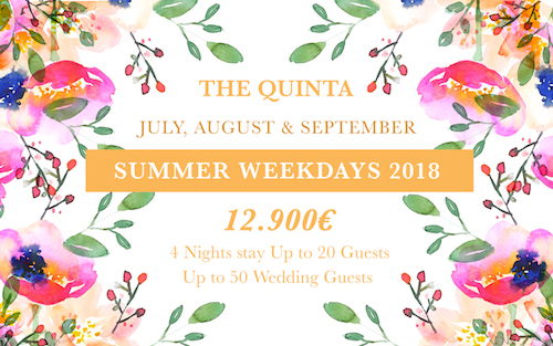 summer wedding package