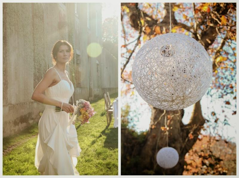 Vintage wedding in the quinta