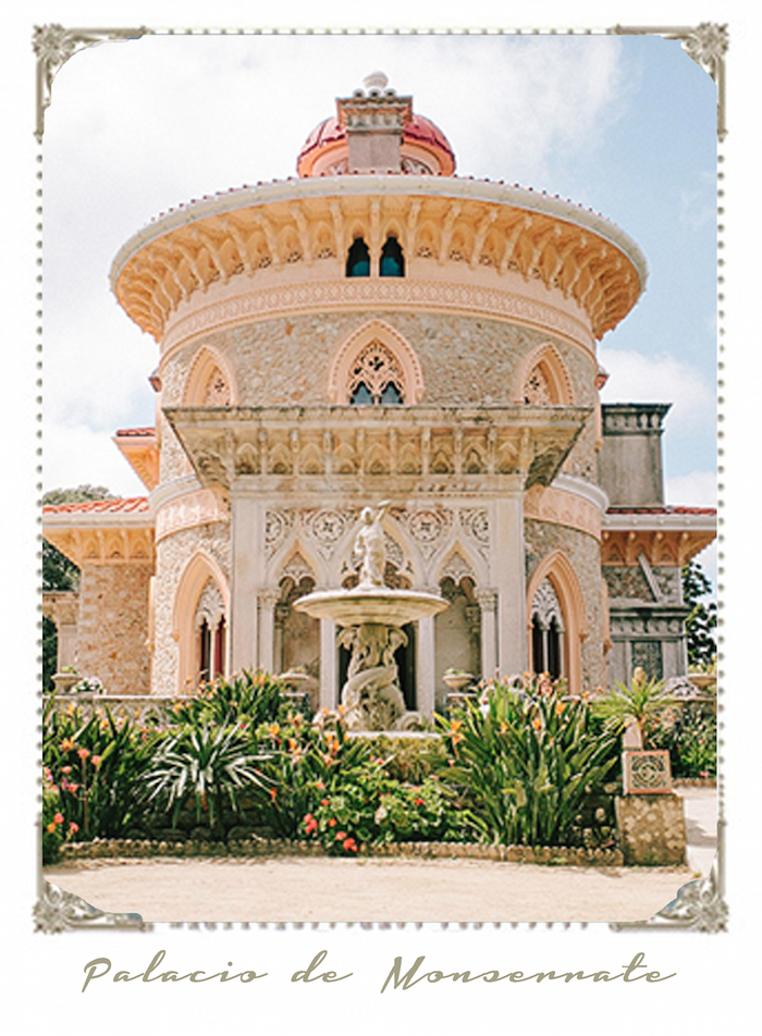 Monserrate Palace wedding venue in Sintra Portugal