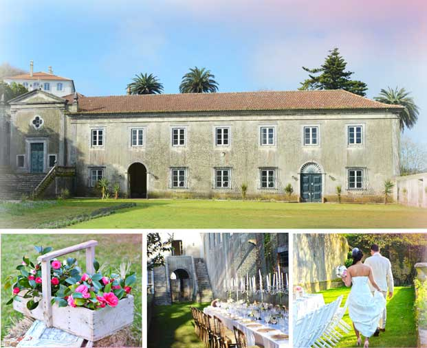My Vintage Wedding In Portugal The Quinta The Quinta