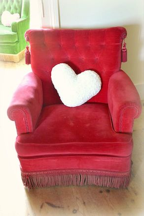Vintage wedding chair